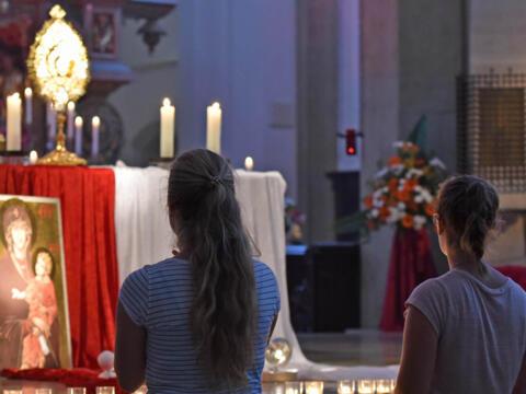 Katholizismus der Zukunft - Wie viel Kirche braucht die Welt? (Symbolfoto: Nicolas Schnall / pba)