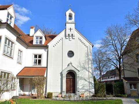 Die Bischöfliche Hauskapelle in Augsburg (Foto: Daniel Jäckel / pba)