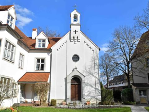 Liveübertragungen aus der Kapelle des Bischofshauses (Foto Daniel Jäckel pba)