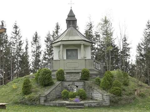 Ort des Gebets: Kapelle auf dem Kapf