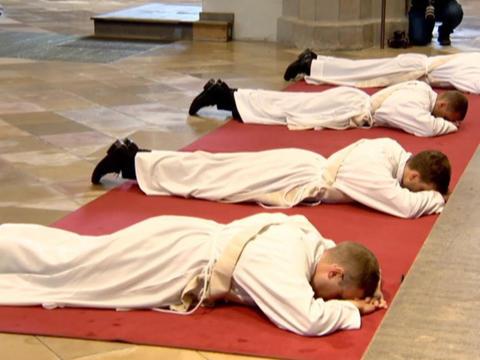 Priesterweihe in Augsburg 2020