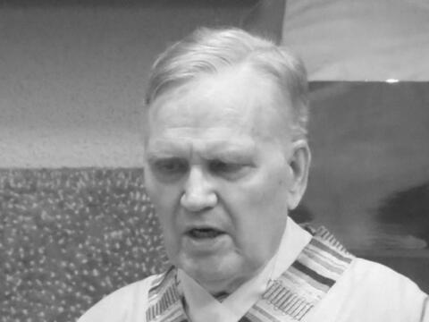 + Ruhestandspfarrer Günther Rehle (1940-2021) (Foto privat)