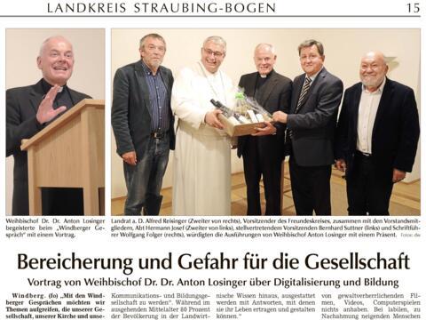 Straubinger Tagblatt_Windberger Gespräch_16.10.2018