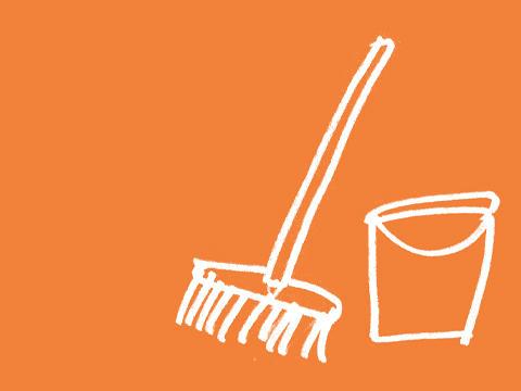 Hauswirtschaft Reinigung