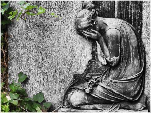 Trauer über Verlust eines lieben Menschen