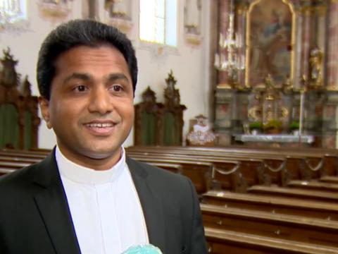 Urlaubsvertretung_Pfarrer Sony in Großaitingen