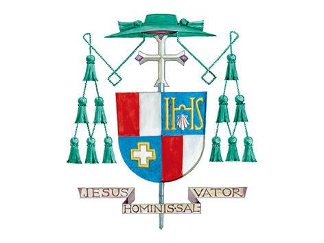 Wappen Bischof em. Mixa
