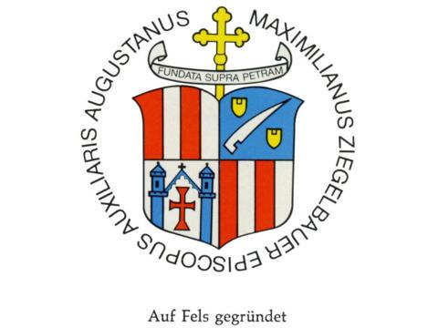 Wappen Weihbischof Ziegelbauer