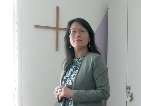 Yujin Li ist die Einrichtungsleiterin des Caritas-Seniorenzentrums Haus Tobit in Elchingen. Die Corona-Pandemie hat ihr Haus vor besondere Probleme gestellt. (Foto: Caritas)