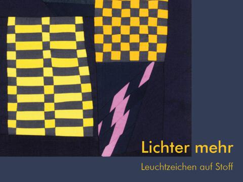 """Aktion """"Lichter mehr"""": Wandbehang und Begleitbuch"""