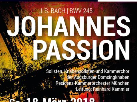 99e08de53e Augsburger Domsingknaben: Johannespassion von Bach in der Evangelischen  Heilig-Kreuz-Kirche