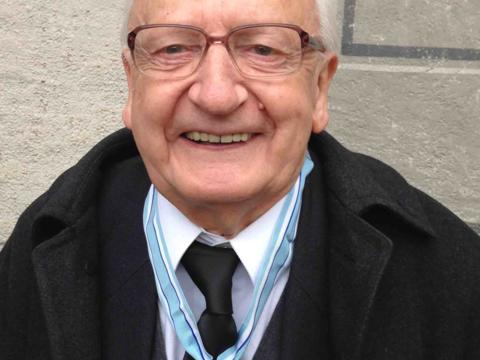 Domkapitular i.R. Professor Dr. Georg Schmuttermayr. (Foto: Peter Düren)