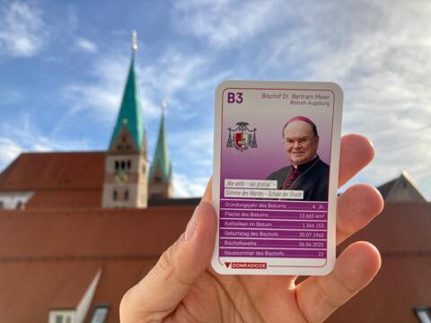 Das Bischofsquartett von DOMRADIO.DE mit neuer Karte. (Foto Nicolas Schnall / pba)