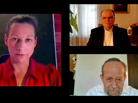 Christlich-jüdische Gespräche zum Friedensfest