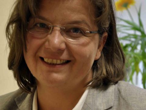 Birgit Bullinger, Beraterin für Schwangerschaftsfragen beim Sozialdienst katholischer Frauen (SkF). Foto: pba/Maria Steber