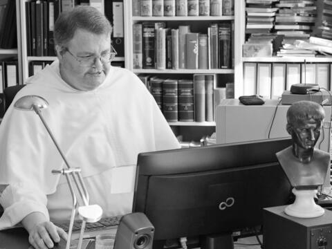 + P. Prior Dr. Dr. Wolfram Hoyer ist mit 51 Jahren verstorben. (Foto: Dominikanerprovinz vom hl. Albert)
