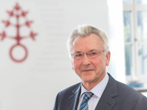 Walter Merkt, Vorstandsvorsitzender des Dominikus-Ringeisen-Werks. (Foto: DRW / Georg Drexel)
