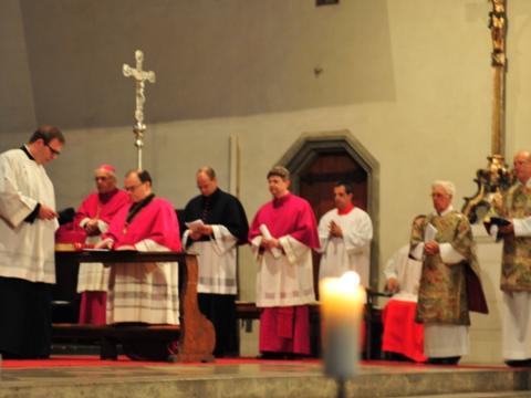Einführungsfeier mit Pontifikalvesper