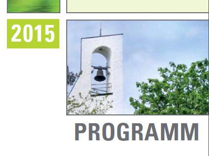 Exerzitienhaus Leitershofen: Neues Jahres-Programm 2015 erschienen