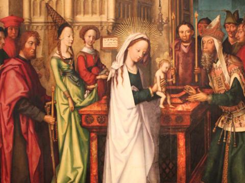 Darstellung des Herrn, Hans Holbein der Ältere 1501.