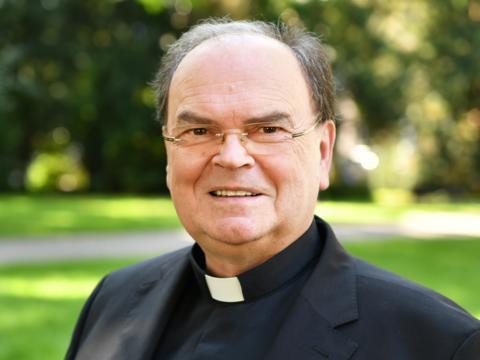 Diözesanadministrator Prälat Dr. Bertram Meier, ernannter Bischof von Augsburg. (Foto: Nicolas Schnall / pba)