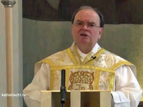 Apostolischer Administrator Dr. Bertram Meier. (Fotos: katholisch1.tv)