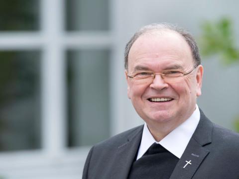 Der Apostolische Administrator Dr. Bertram Meier empfängt am 6. Juni die Bischofsweihe. (Foto: Bernd Müller / pba)