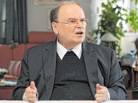 Interview mit Bischof Bertram über das Verbot öffentlicher Gottesdienste. (Foto: Katholische SonntagsZeitung / Annette Zoepf)
