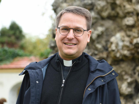 Der Dekan von Nördlingen: Pfarrer Jürgen Eichler (Foto: Maria Steber / pba).