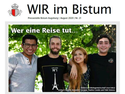 """Neue Ausgabe von """"WIR im Bistum"""" erschienen"""