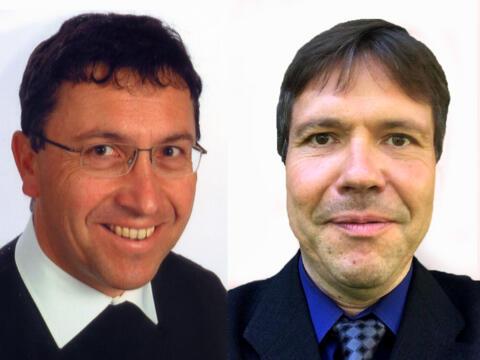 Zu Prodekanen ernannt: Pfarrer Josef Kühn (links) und Pfarrer Peter Seidel (Fotos: privat).