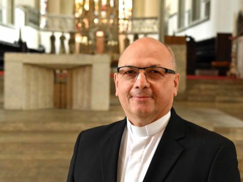 Zum Bischöflichen Zeremoniar ernannt: Pfarrer Ulrich Müller. (Foto: Nicolas Schnall / pba)