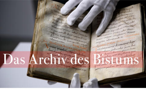 Neuer Film über das Archiv des Bistums