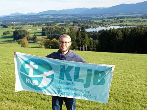 Lukas Hofmann, neuer KLJB-Diözesanvorsitzender (Foto: KLJB).