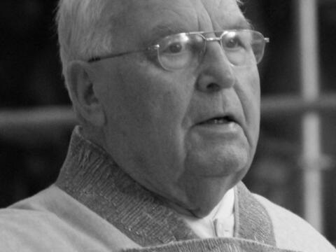 + Pfarrer i.R. Msgr. Alois Egger. (Foto: Behindertenseelsorge)