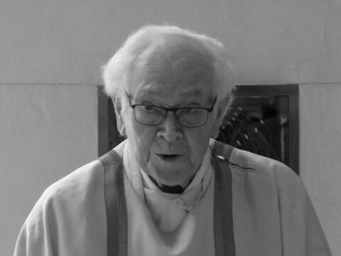 + Professor Anton Rauscher, Jesuit und Sozialethiker. (Foto: Roswitha Mitulla)