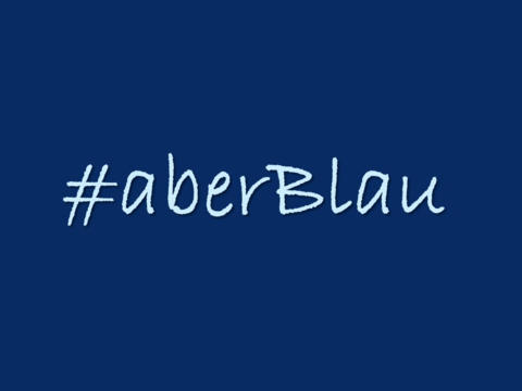 "Social Media Event zum Thema ""Blau"""