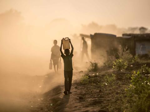 Sicheres Trinkwasser ist auch für die Menschen im Südsudan lebensnotwendig. (Foto Caritas international)