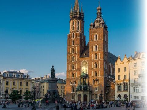 In Krakau erwartet die Pilger aus Augsburg ein vielfältiges Programm. (Foto: Ulrich Schwab / Katholische SonntagsZeitung)