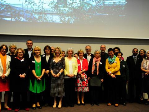 Herzblut und Engagement: das Team der Augsburger EFL-Beratungsstelle