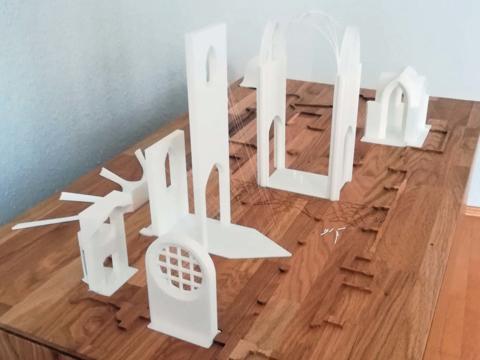 Ulrichsbasilika in 3D: Ziel des Projektes war es, das Gotteshaus auch für Sehbehinderte erlebbar zu machen. (Foto: Thomas Schmidt)