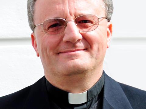Von Bischof Konrad zum Domkapitular ernannt: Monsignore Dr. Alessandro Perego. (Foto: Nicolas Schnall / pba)
