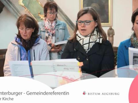 Videoclip: Einblicke in die Arbeit von Gemeindereferentin Astrid Unterburger