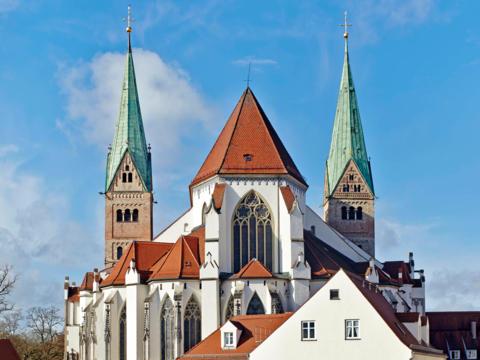 Außenansicht des Augsburger Doms. (Foto: Siegfried Wameser)