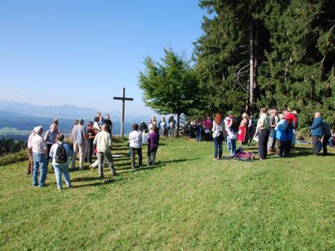 Bergmesse am Auerberg am 26. September