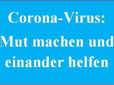 Maria Steinbach, Corona-Virus, keine Gottesdienste und liturgische Feiern möglich