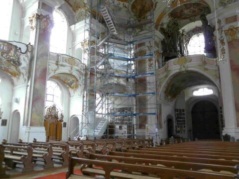Wallfahrtskirche Maria Steinbach, Aktuelles, Renovierung