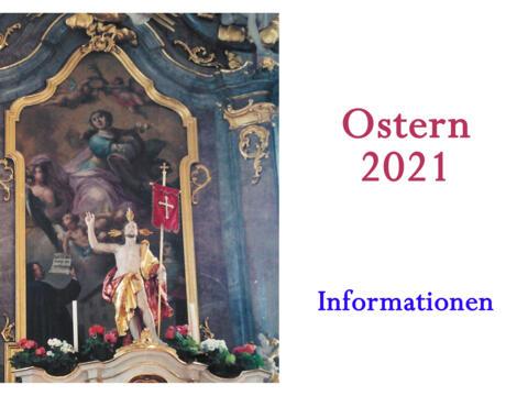 Aktuelle Information zu Ostern hier in Uffing