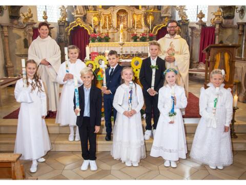 Erstkommunion - Zweite Feier