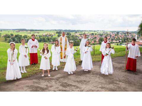 Nachtrag zur Erstkommunion in Uffing
